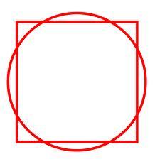 Squaring a circle
