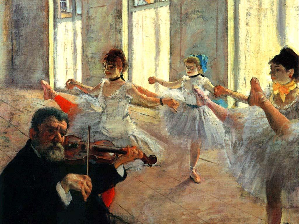 Bailarinas-de-Edgar-Degas