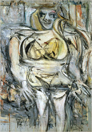 "WILLEM DE KOONING ""Woman III"", 1952-53"
