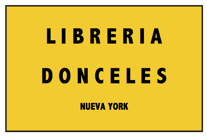 LIBRERIA DONCELES sign