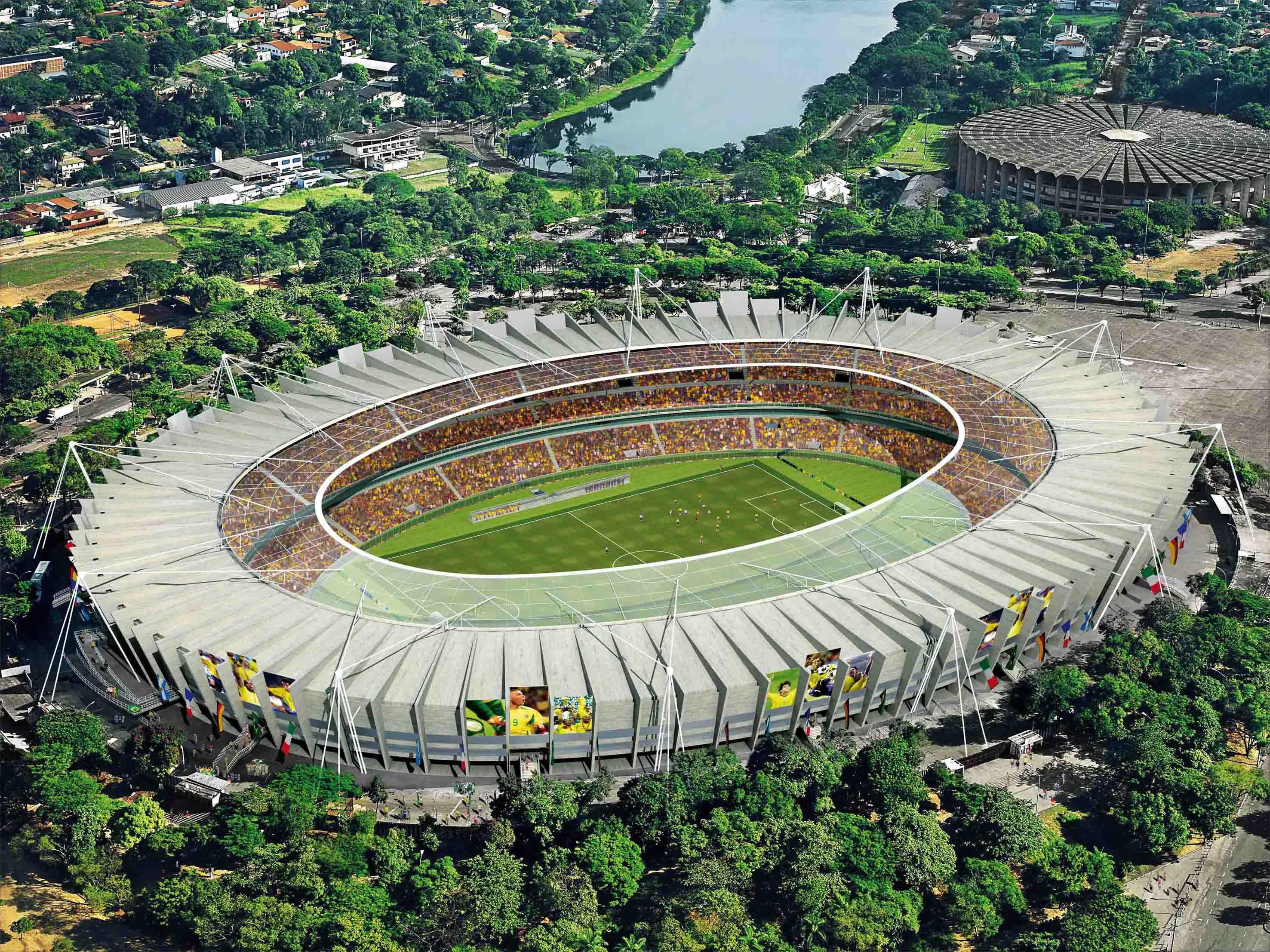 Belo Horizonte Brazil  city photos gallery : Top 6: Seis estadios de Brasil para el mundial | Gamma | Arte | Studio