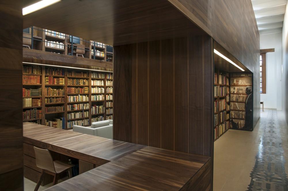 Biblioteca personal Carlos Monsiváis en la Biblioteca México, La Ciudadela, México D.F.