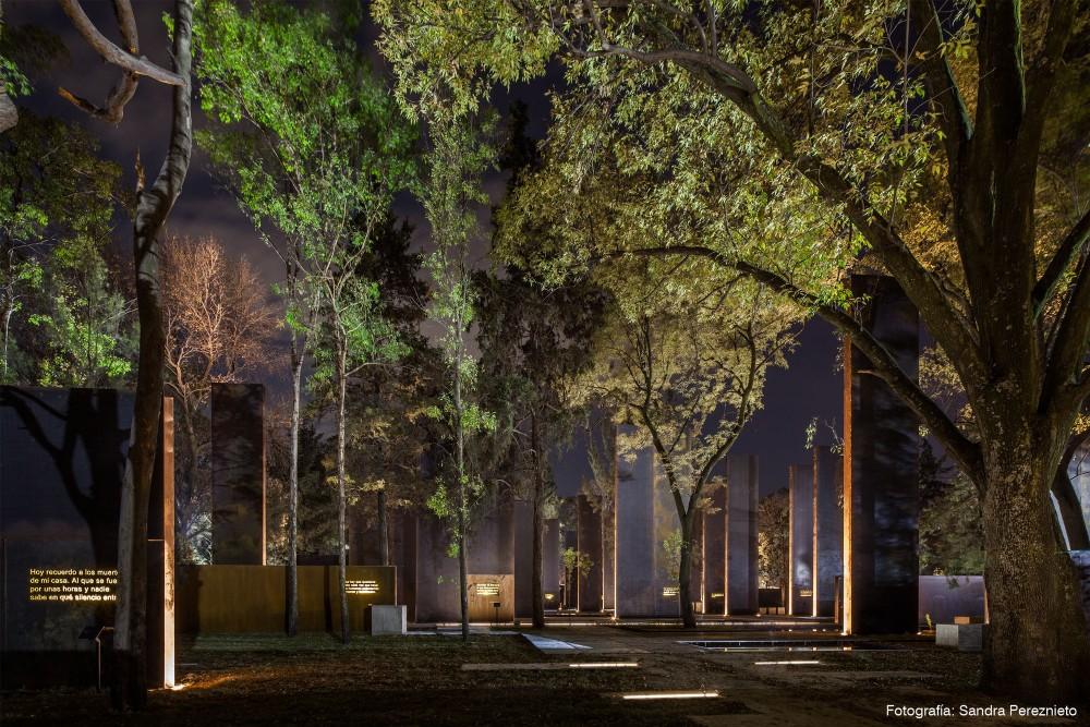 Memorial a las víctimas de la violencia en México en México D.F