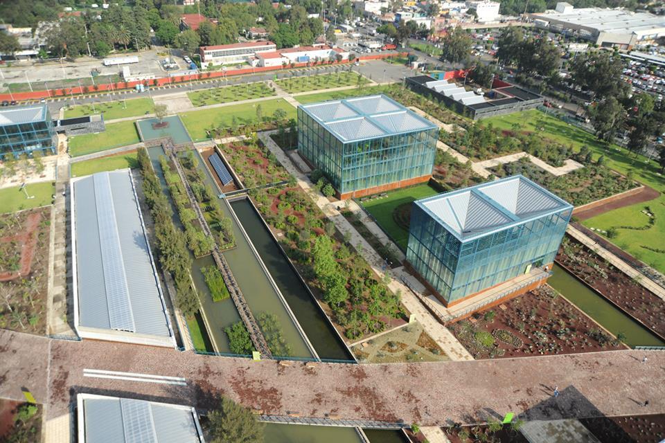 Jardín Natura del Parque Bicentenario en México D.F.