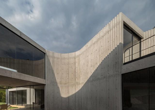 Concreto Corrugado Por Cherem Arquitectos