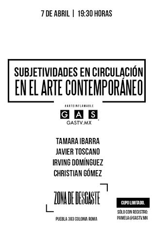 Conversatorio | Subjetividades en circulación en el arte contemporáneo
