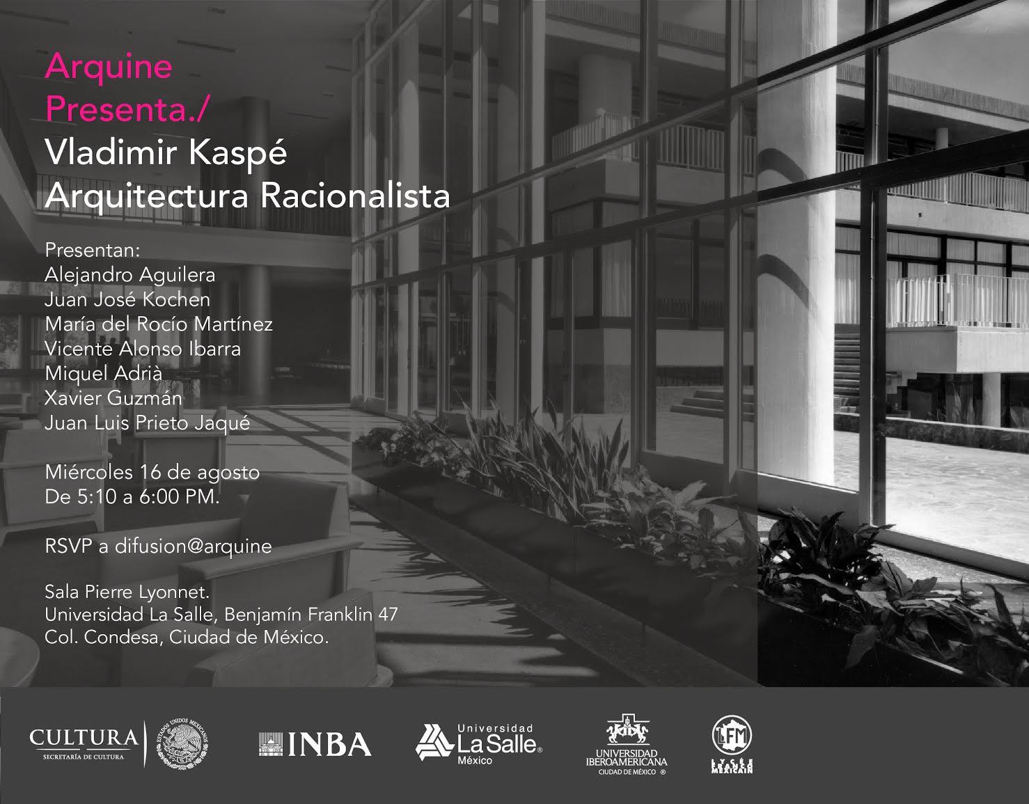 Arquine presenta arquitectura racionalista gas tv for Arquitectura racionalista